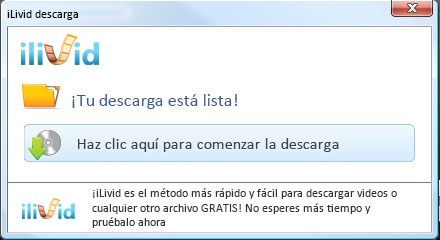 iliVid Virus Malware - descarga
