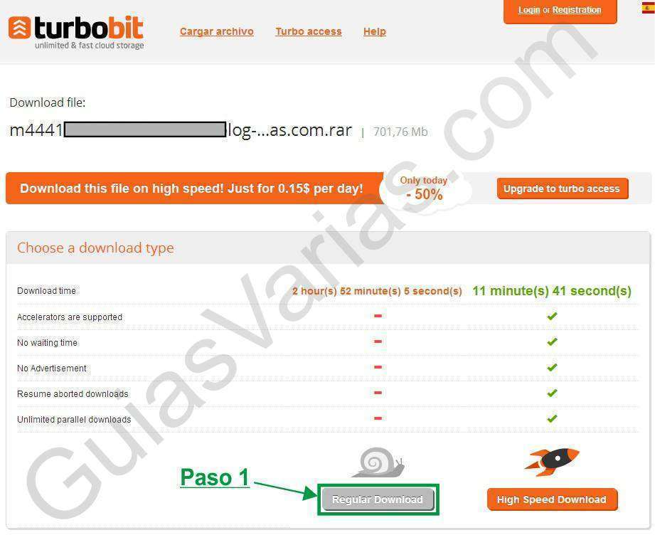 turbobit downloader cuidado como descargar de turbobit correctamente pantallazo01