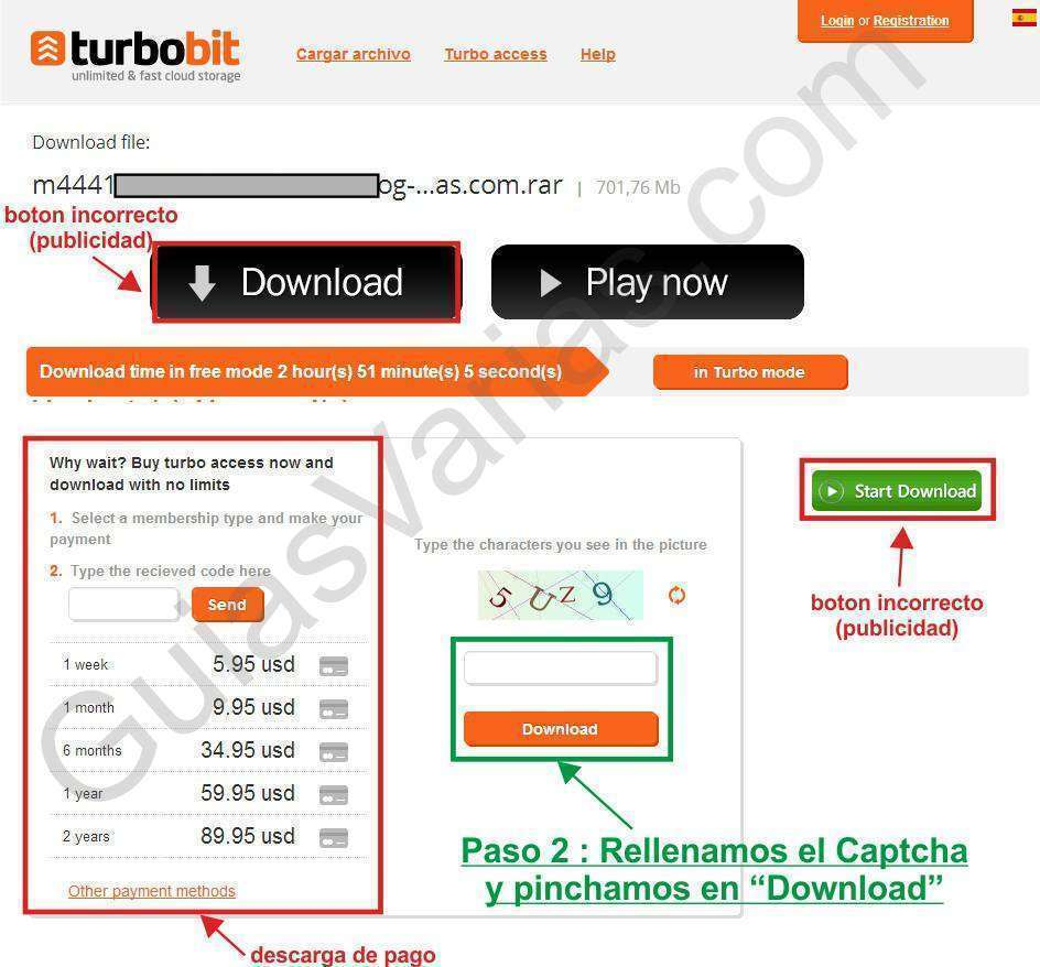 turbobit downloader cuidado como descargar de turbobit correctamente pantallazo02