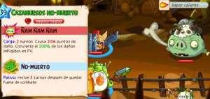 Angry Birds Epic Boss Cueva 12 lvl10 CazaHuesos No-Muerto