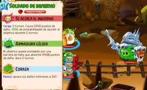 Angry Birds Epic Boss Cueva 13 lvl10 Soldado del Invierno