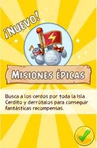 Angry Birds Epic Eventos Misiones Epicas