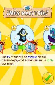 Angry Birds Epic Maestria Clases