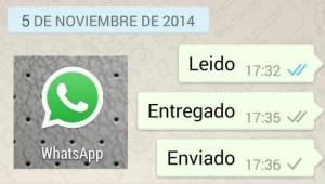 Como quitar el doble check azul del Whatsapp aclaracion