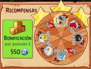 Angry Birds Epic Evento 3 - Bajo las Nubes de la Noche - Mision epica_recompensa