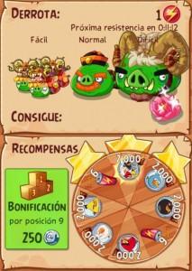 Evento 7 - Angry Birds Epic - Feliz Año de la Cabra_mision epica_enemigos y recompensas