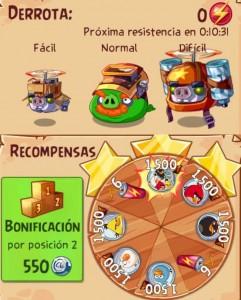 Evento 8 - Angry Birds Epic - Grupo de incursion_mision epica_enemigos recompensa_