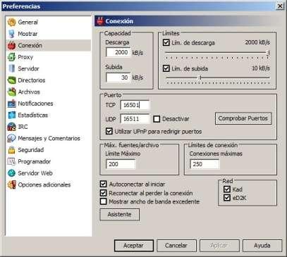 Personalizar los puertos eMule. Abrir puertos emule utorrent router
