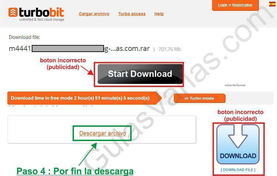 turbobit downloader cuidado como descargar de turbobit correctamente pantallazo04