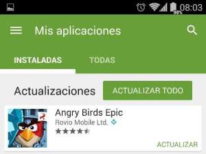 Angry Birds Epic Actualizaciones y parches