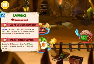 Angry Birds Epic Boss Cueva15 lvl10 Lawrence