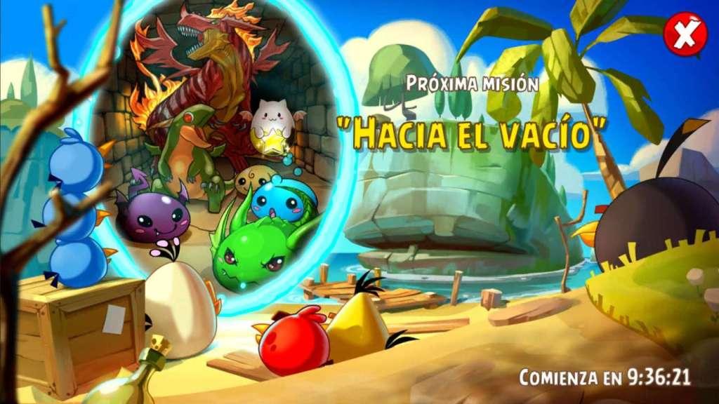 Evento Mision Epica Hacia el vacio. Angry Birds Epic actualizaciones