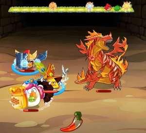 Evento 2 - Angry Birds Epic - Hacia el vacio - Mision Epica pantallazo