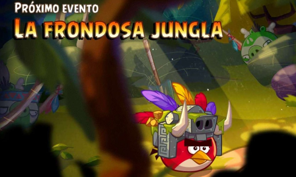 Evento 9 - Angry Birds Epic - La Frondosa Jungla