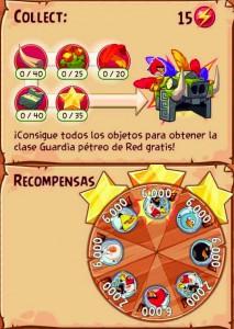 Evento 9 - Angry Birds Epic - La Frondosa Jungla recompensas
