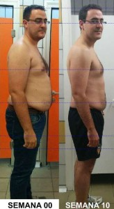 Reto David G. Semanas 1-10 Objetivo perder barriga